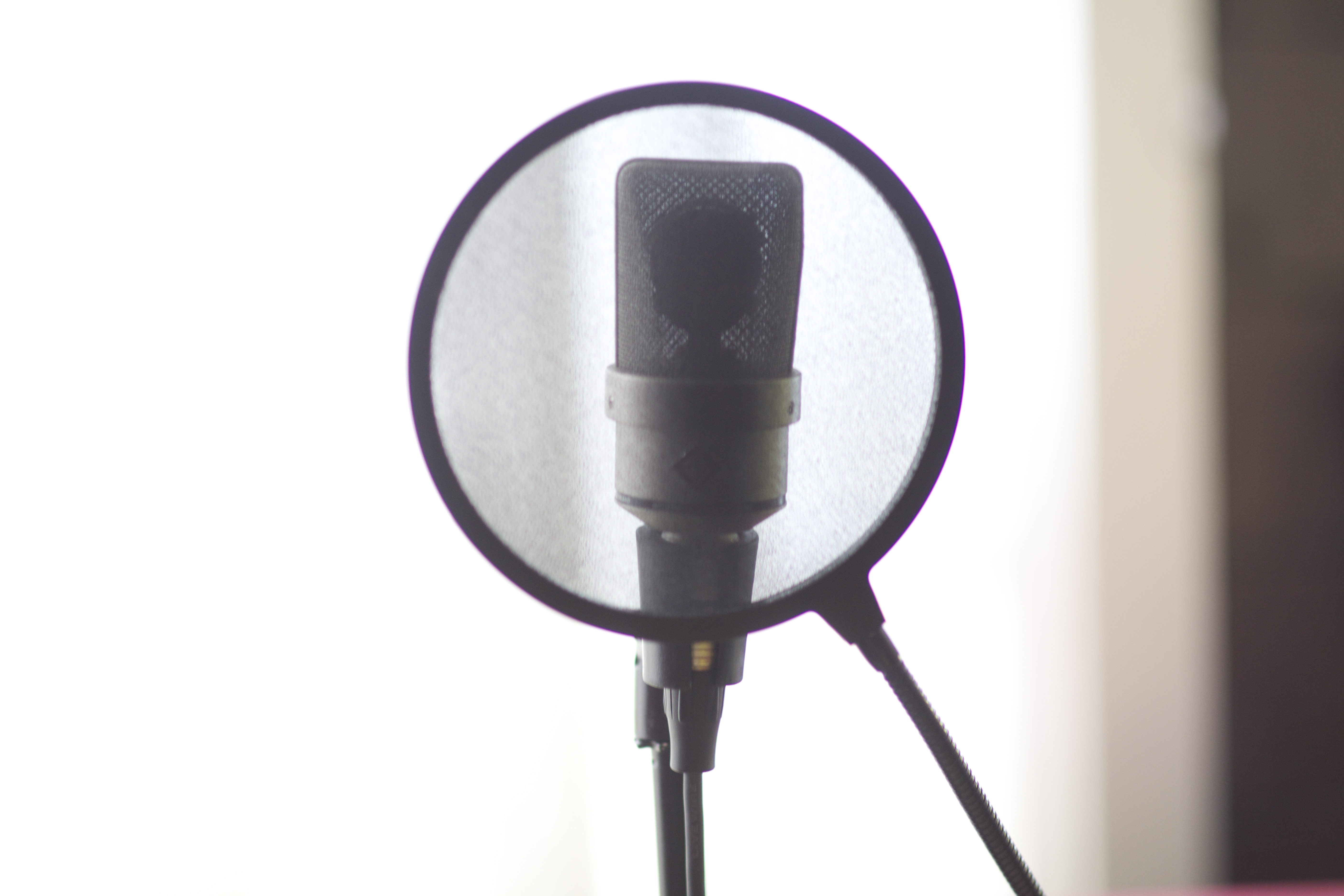 record your voiceover in my home studio in 24 hours or less