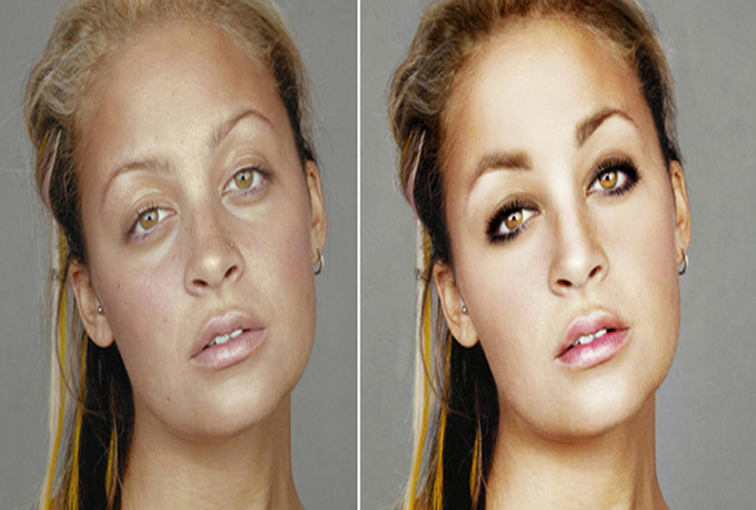 retouch your photo using Photoshop