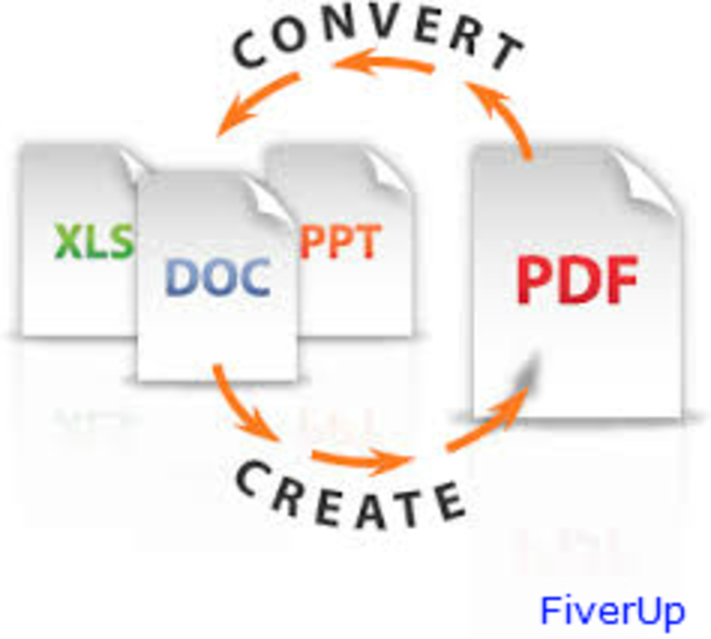 convert pdf to many other format, high quality result
