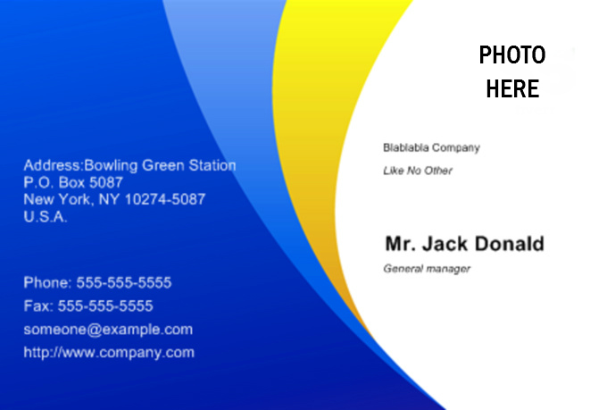 design a great business card on the net