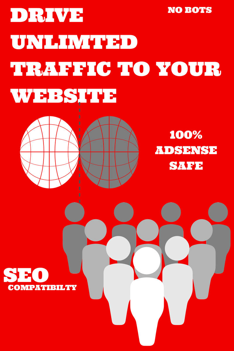 send unlimited REAL traffic to your website for a month