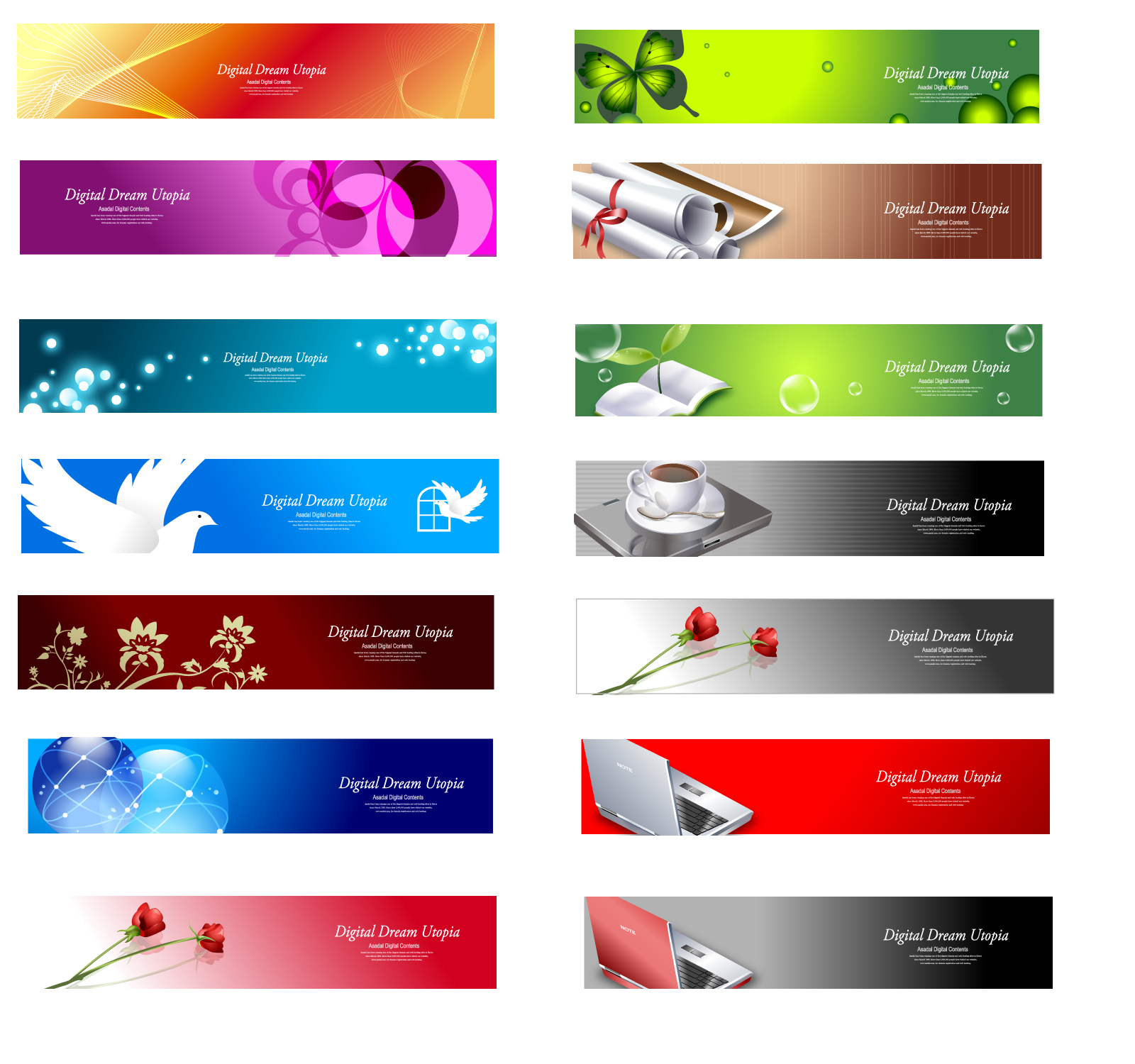create simple banner quickly and professional