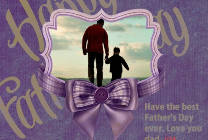 create photo card to greeting your beloved