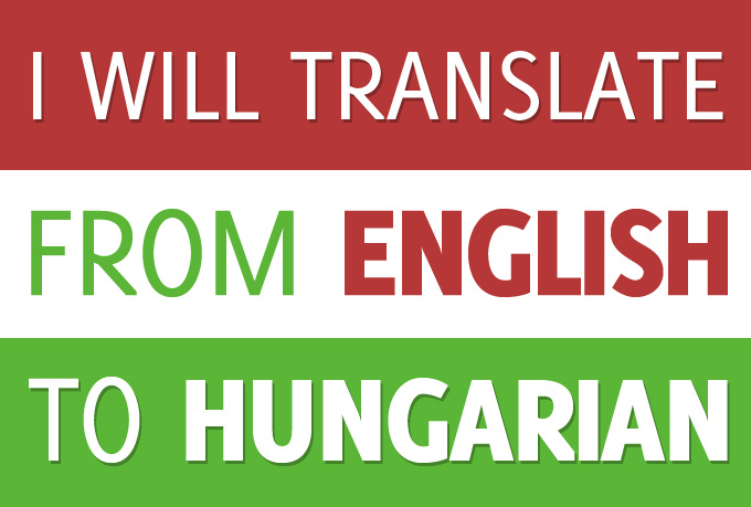 translate from english to hungarian