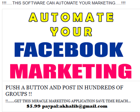 give you a secret website where you can Facebook autopost for free