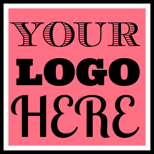 create a square, typographic business name LOGO