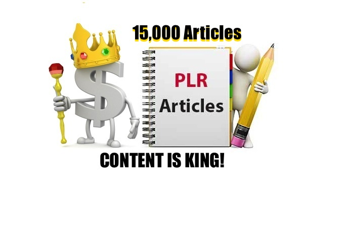 Provide 15,000 PLR Article Pack With Private Label Rights