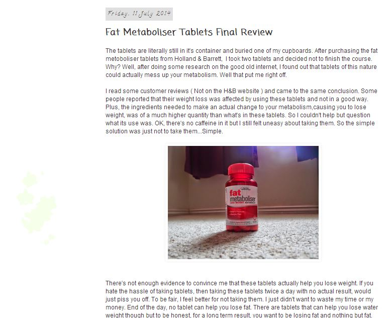 feature your weight loss/ fitness related product on my blog