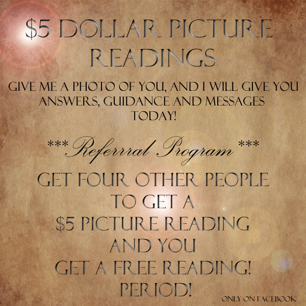 do a psychic picture reading