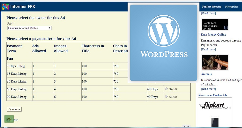 Create custom forms for your wordpress site