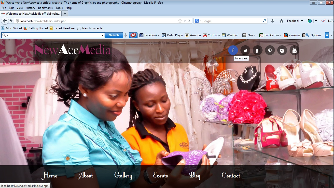 create a nice responsive website for your business