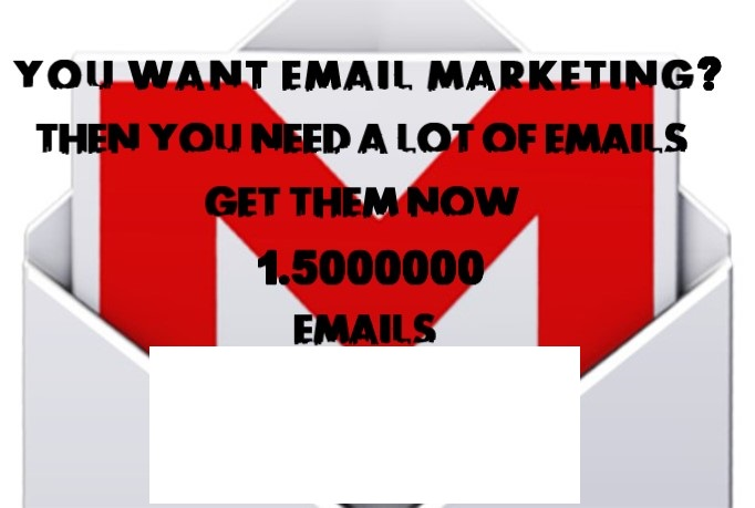 give you 1.500000 email list with names and links to their Facebook accounts