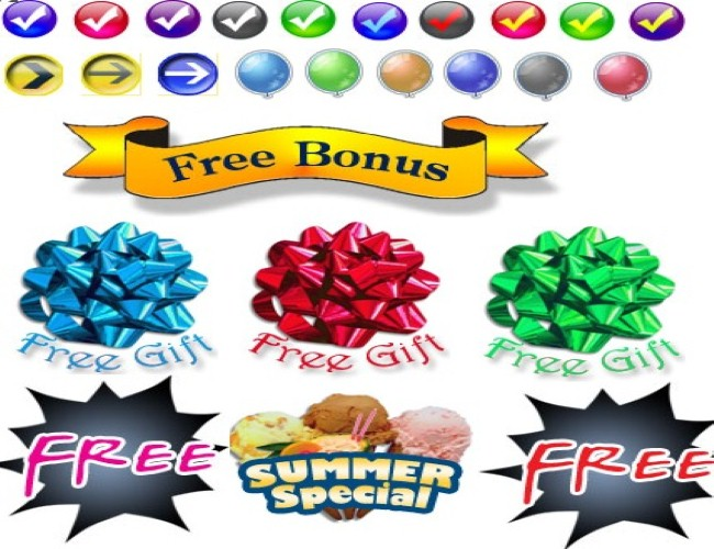 give you professionally order buttons package for sale page