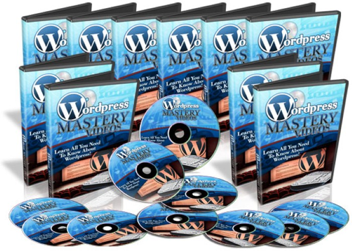 give you wordpress mastery videos with 60 video tutorial