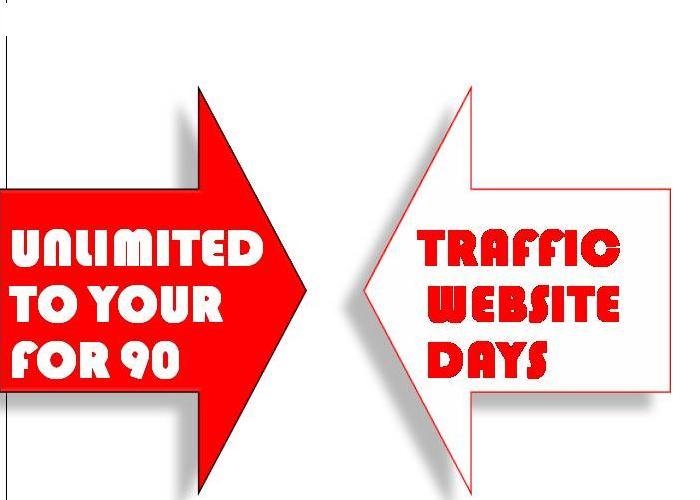 generate UNLIMITED traffic to your website for 90 days