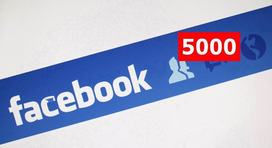give you a facebook account with 5000 friend and more in the waiting liste