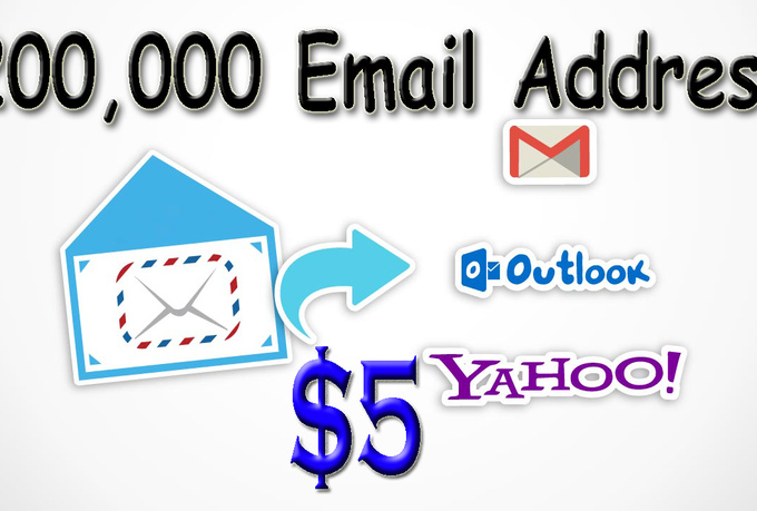 give you 200,000 email address