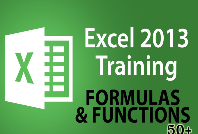 teach you 50 Excel Formulas for Professional use