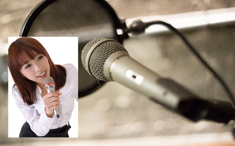 record a professional female voice over in Korean