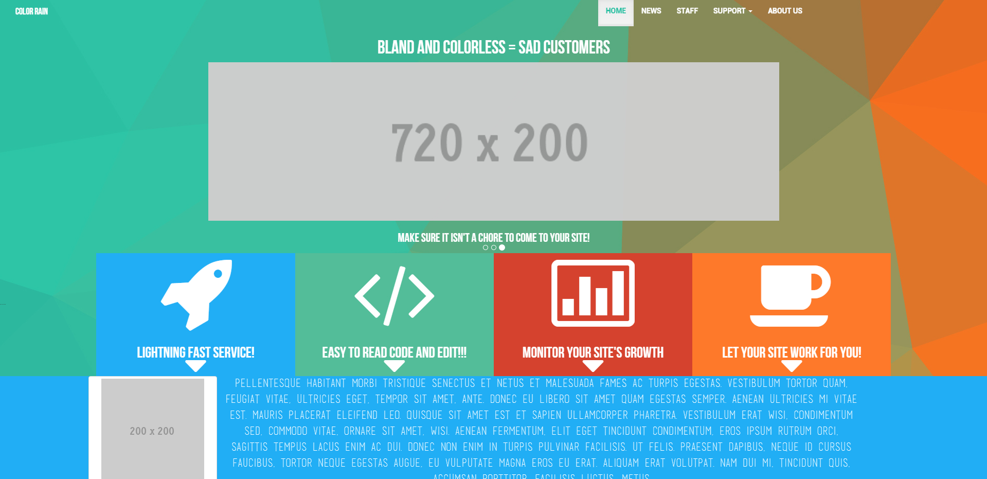 design an Awesome and Responsive Website