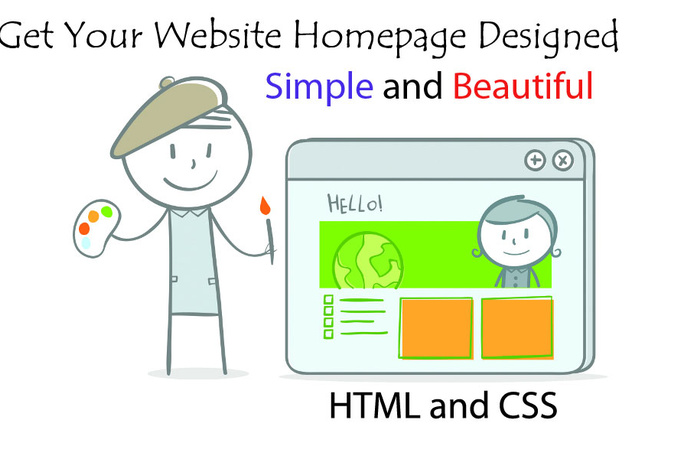 make a Website Homepage for You