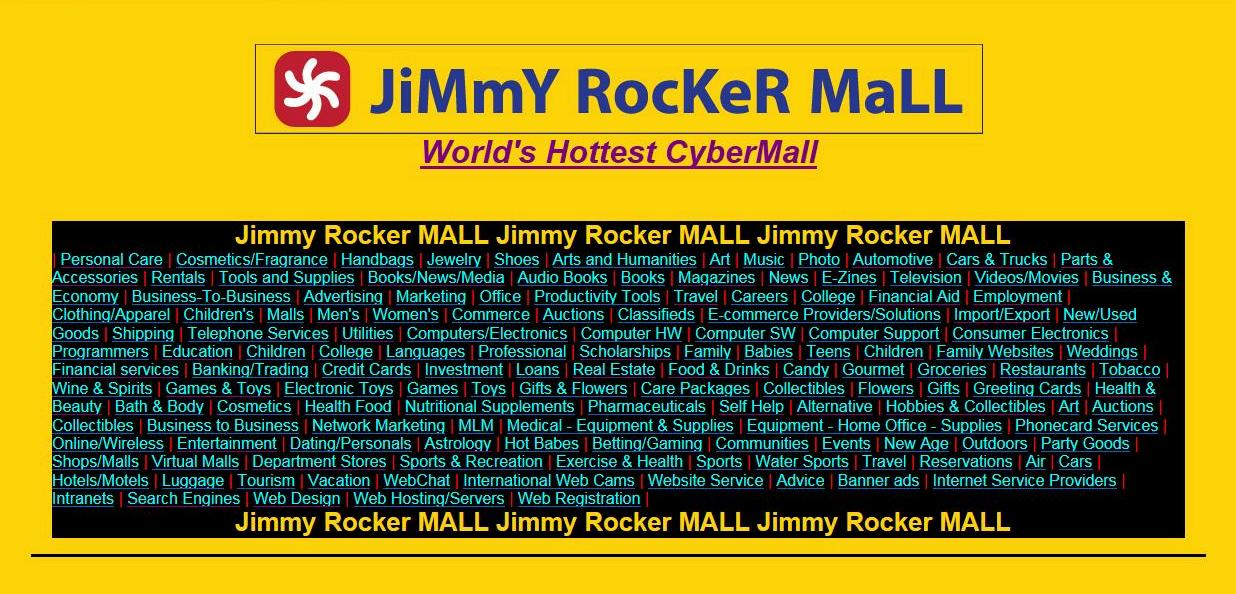 place your Ad Link on the Jimmy Rocker Mall