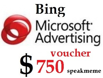Bing Vouchers Worth 200 USD For Old and New Bing Account for Worldwide use
