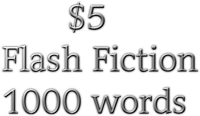 write a piece of flash fiction for your site.
