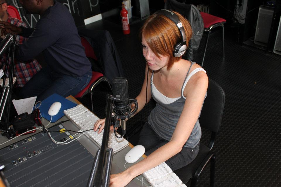 record a professional British female voice over