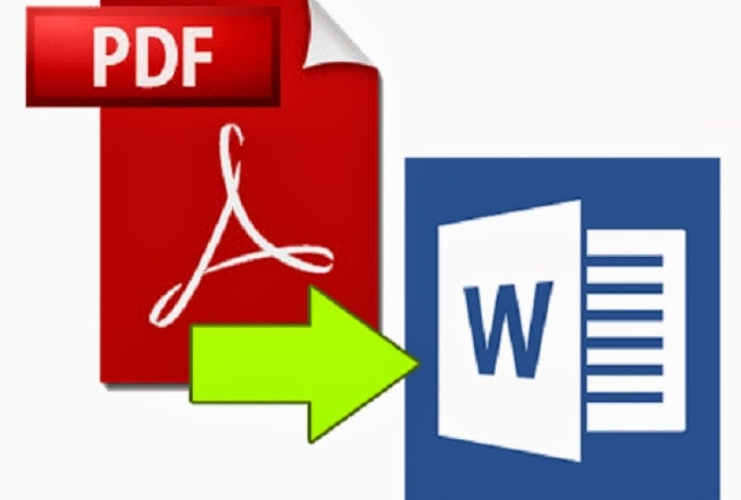 convert pdf files to MS Word or Powerpoint