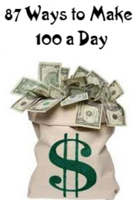 """send you a pdf """" $100 daily in 87 ways"""""""
