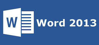 type up your documents in Word 2013
