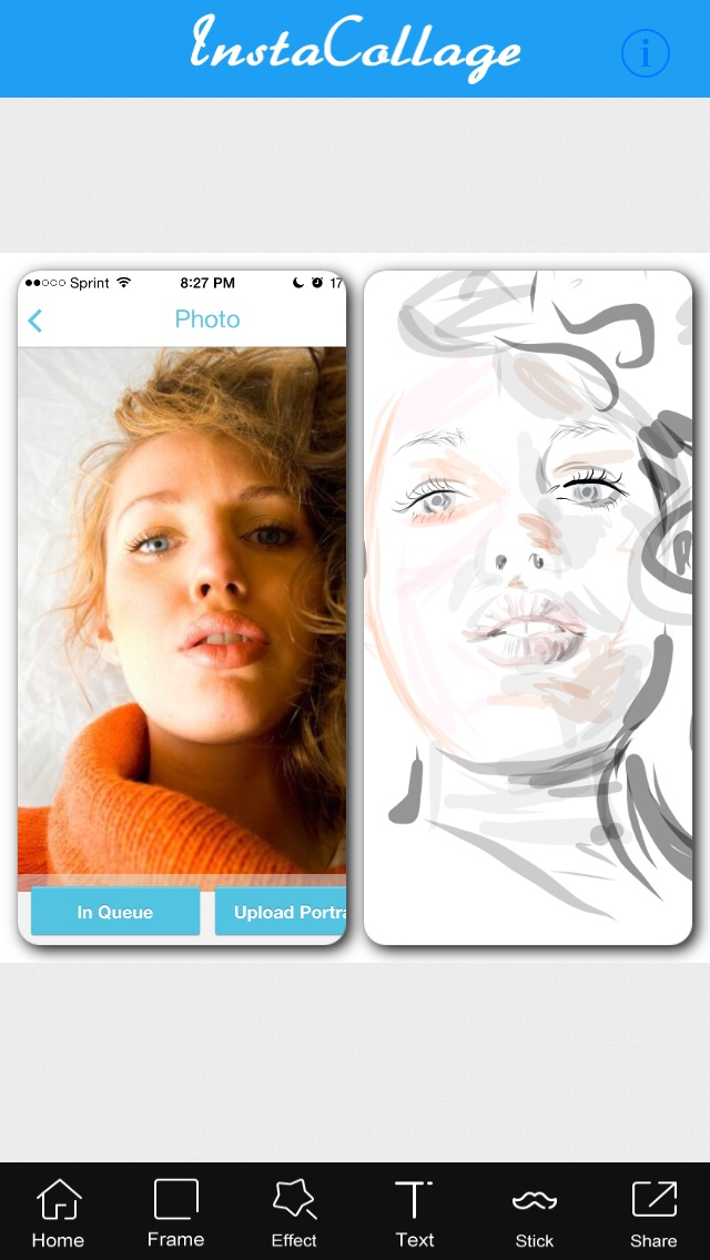 Draw a digital pic of you