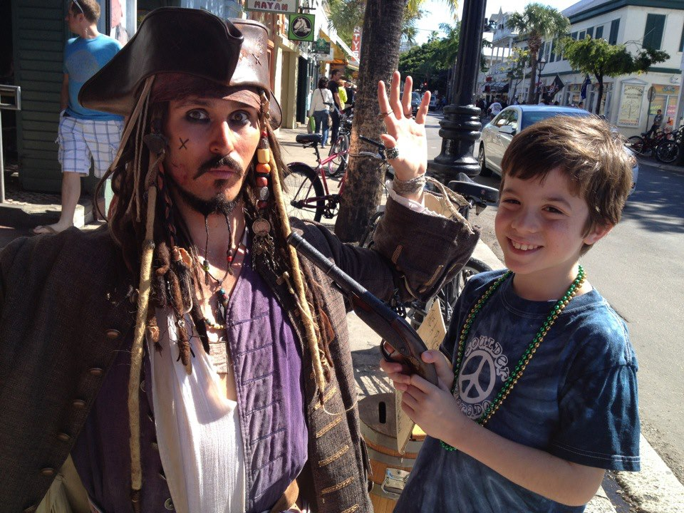 deliver a personalized Captain Jack Sparrow video greeting