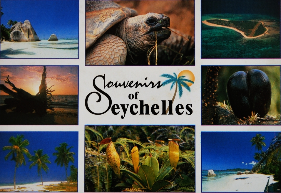 send you a postcard/ viewcard from Seychelles