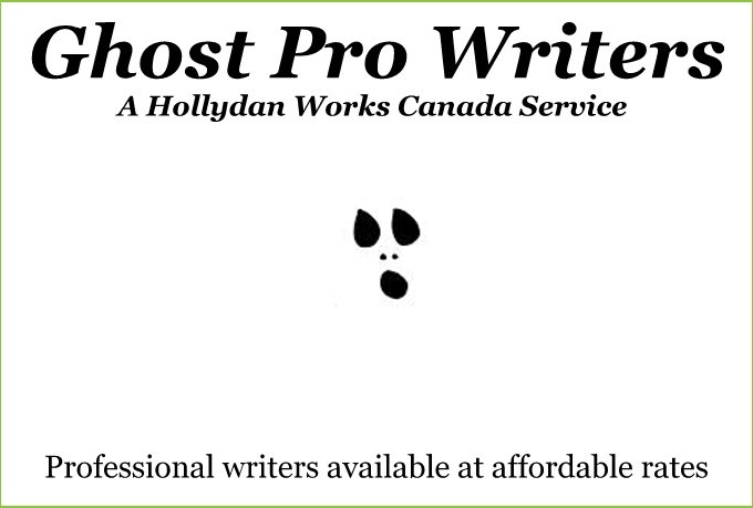 be your professional ghost writer