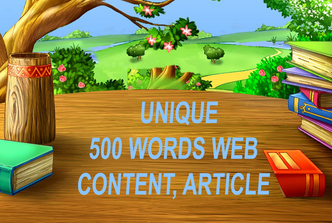 write 3 Articles Each 500 Words