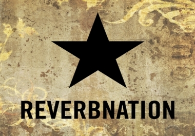 add 8000 Reverbnation Song Plays, 8000 Video Plays, 8000 Widget Impressions