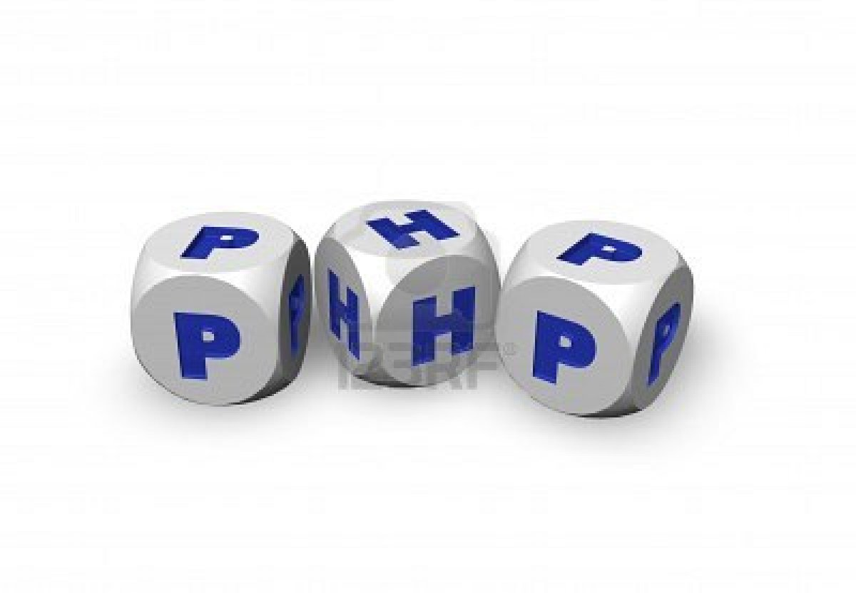 create a website in php