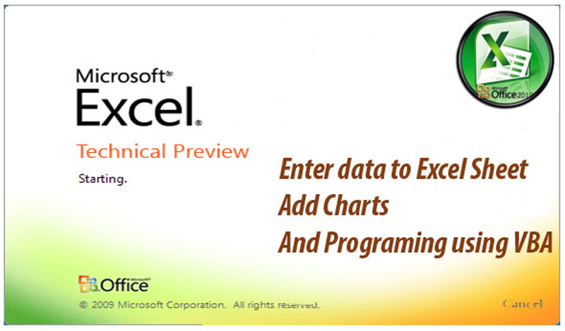 make proffissional MS ExcelSheets with VBA code