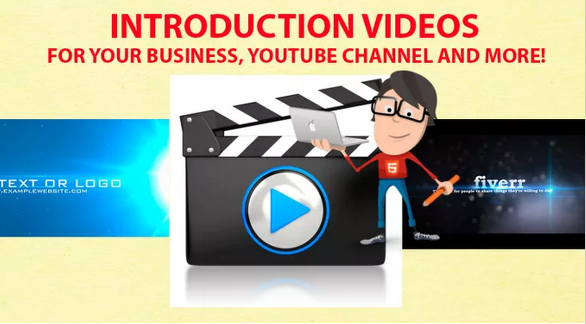 create you a Cool Introduction Video