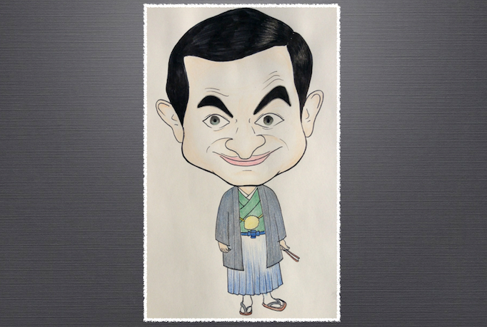 draw your caricature in Japanese style