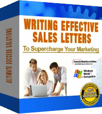 Give you an eBook for Writing Effective Sales Letters to Supercharge your Marketing