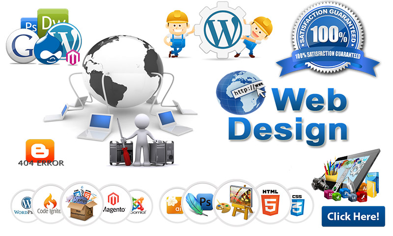 create and modify or customize your blogger or WORDPRESS site
