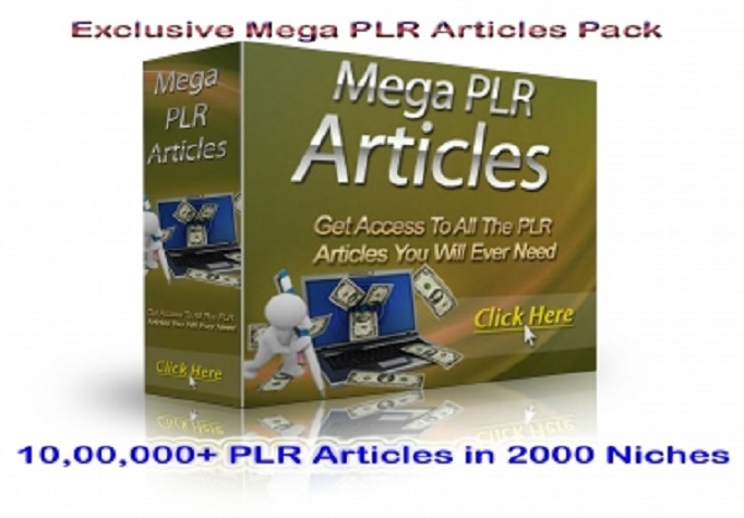 give over 1000000 PLR Article in 2000 Niches and more