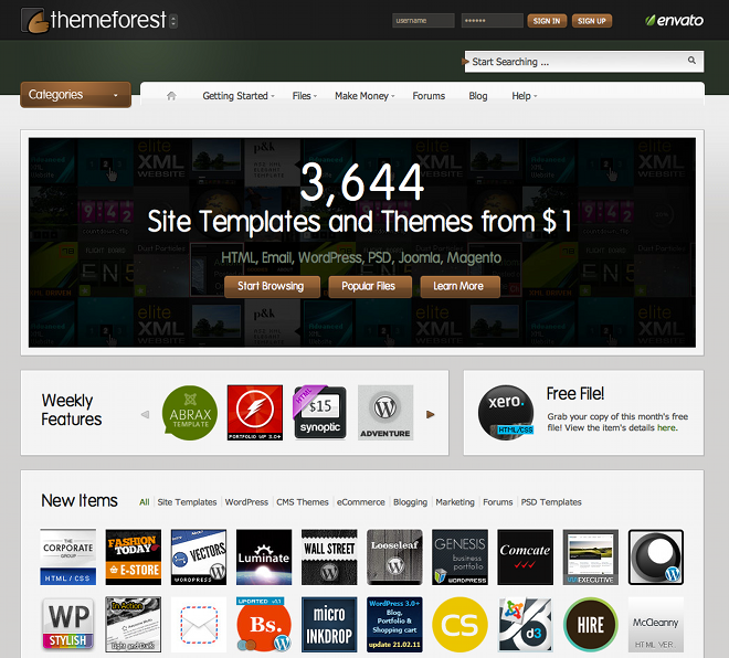 give you unlimited  premium wordpress themes every month