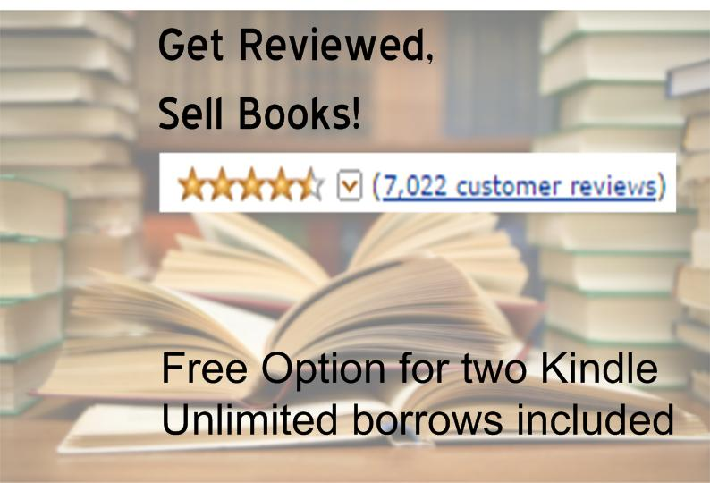 review two of your books on Amazon
