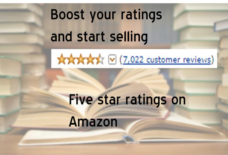 review and rate two of your Amazon products