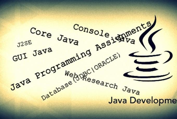 help you with your Java assignments