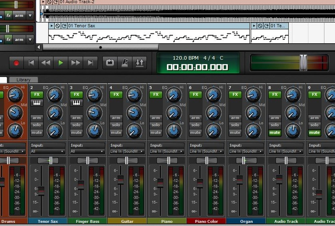 master your recorded music to high quality